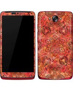 Orange Zen Motorola Droid Skin