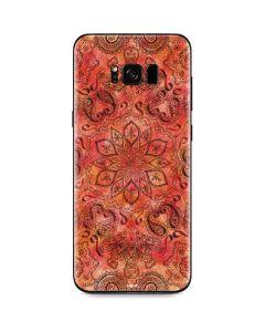Orange Zen Galaxy S8 Skin