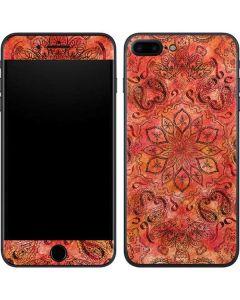 Orange Zen iPhone 7 Plus Skin
