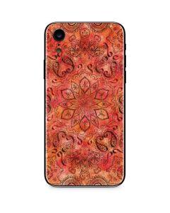 Orange Zen iPhone XR Skin