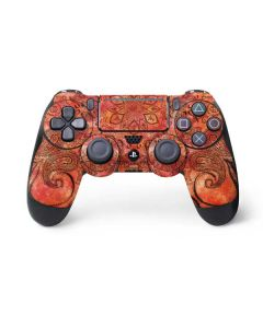 Orange Zen PS4 Pro/Slim Controller Skin