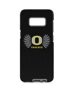 Oregon Ducks Black Galaxy S8 Pro Case