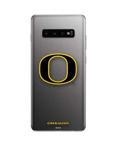 Oregon Ducks Black Gradient Galaxy S10 Plus Skin