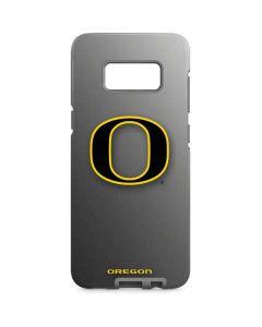 Oregon Ducks Black Gradient Galaxy S8 Plus Pro Case