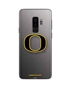 Oregon Ducks Black Gradient Galaxy S9 Plus Skin