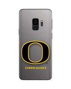Oregon Ducks Black Gradient Galaxy S9 Skin