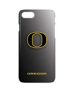 Oregon Ducks Black Gradient iPhone 8 Lite Case