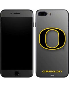 Oregon Ducks Black Gradient iPhone 8 Plus Skin
