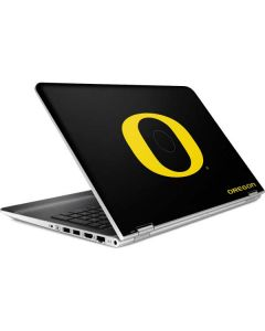 Oregon Ducks Black Gradient HP Pavilion Skin