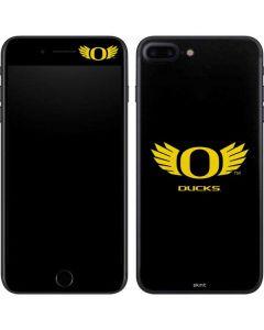 Oregon Ducks Black iPhone 8 Plus Skin
