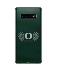 Oregon Ducks Green Galaxy S10 Plus Skin