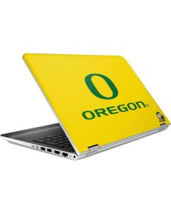 Oregon Ducks Green Gradient HP Pavilion Skin
