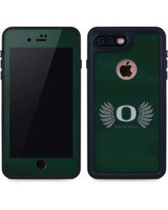 Oregon Ducks Green iPhone 8 Plus Waterproof Case