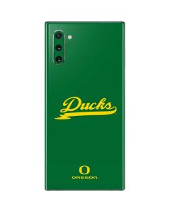 Oregon Ducks Logo and Wings Galaxy Note 10 Skin