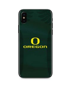 Oregon Ducks Logo and Wings iPhone X Skin