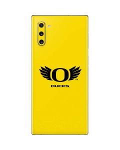 Oregon Ducks Yellow Galaxy Note 10 Skin