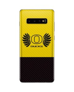 Oregon Ducks Yellow Galaxy S10 Plus Skin