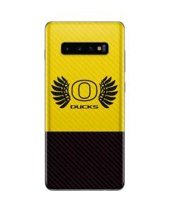 Oregon Ducks Yellow Galaxy S10 Plus Skin
