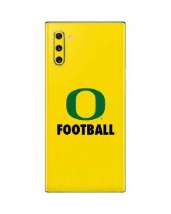 Oregon Football Galaxy Note 10 Skin