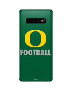 Oregon Football Green Galaxy S10 Plus Skin