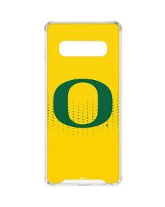 Oregon Mesh Yellow Galaxy S10 Clear Case