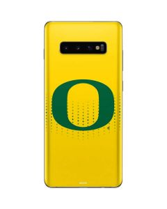 Oregon Mesh Yellow Galaxy S10 Plus Skin