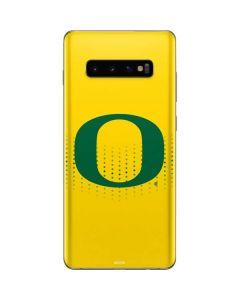 Oregon Mesh Yellow Galaxy S10 Plus Skin