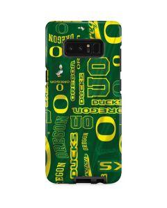Oregon Pattern Galaxy Note 8 Pro Case