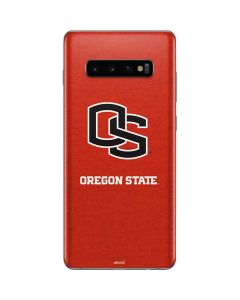 Oregon State Orange Galaxy S10 Plus Skin