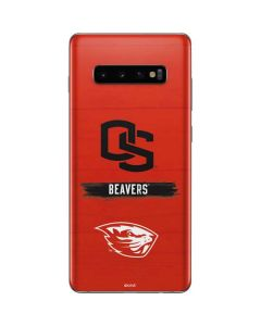 Oregon State Texture Galaxy S10 Plus Skin