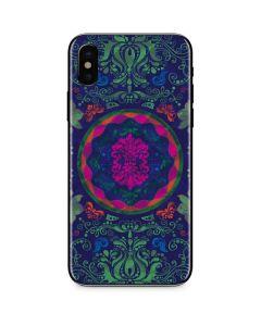 Ornate Swirls iPhone X Skin