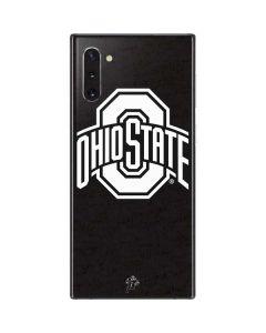 OSU Ohio State Black Galaxy Note 10 Skin