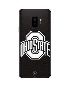 OSU Ohio State Black Galaxy S9 Plus Skin