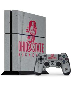 OSU Ohio State Buckeye Character PS4 Console and Controller Bundle Skin