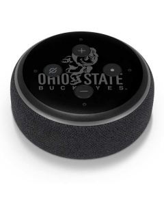 OSU Ohio State Buckeyes Black Amazon Echo Dot Skin