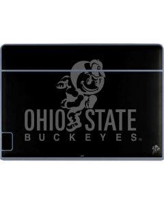 OSU Ohio State Buckeyes Black Galaxy Book Keyboard Folio 12in Skin