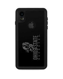 OSU Ohio State Buckeyes Black iPhone XR Waterproof Case