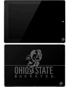 OSU Ohio State Buckeyes Black Surface 3 Skin