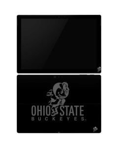 OSU Ohio State Buckeyes Black Surface Pro 6 Skin