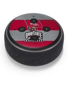 OSU Ohio State Buckeyes Flag Amazon Echo Dot Skin