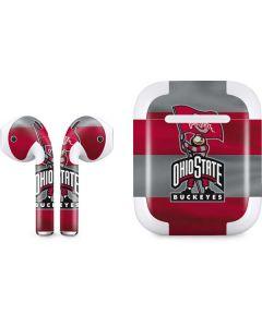 OSU Ohio State Buckeyes Flag Apple AirPods 2 Skin