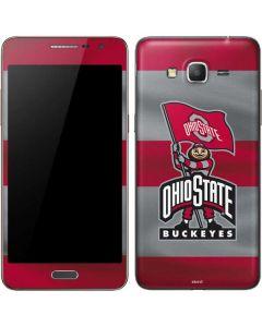 OSU Ohio State Buckeyes Flag Galaxy Grand Prime Skin