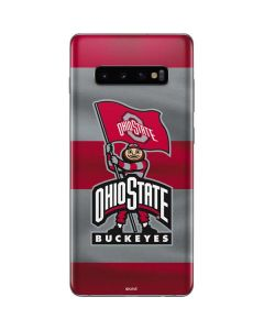 OSU Ohio State Buckeyes Flag Galaxy S10 Plus Skin