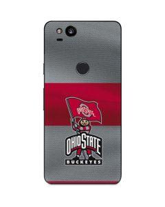 OSU Ohio State Buckeyes Flag Google Pixel 2 Skin
