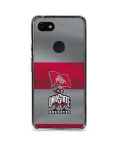OSU Ohio State Buckeyes Flag Google Pixel 3a Clear Case