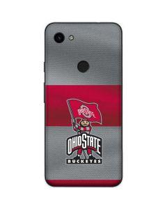 OSU Ohio State Buckeyes Flag Google Pixel 3a Skin