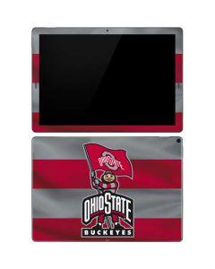 OSU Ohio State Buckeyes Flag Google Pixel Slate Skin