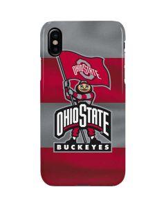 OSU Ohio State Buckeyes Flag iPhone XS Max Lite Case