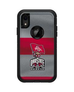 OSU Ohio State Buckeyes Flag Otterbox Defender iPhone Skin