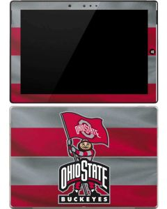 OSU Ohio State Buckeyes Flag Surface 3 Skin